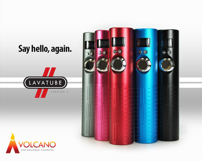 Handcrafted LAVATUBE Version 2 from Volcano Fine Electronic Cigarettes.  (PRNewsFoto/Volcano Fine Electronic Cigarettes)