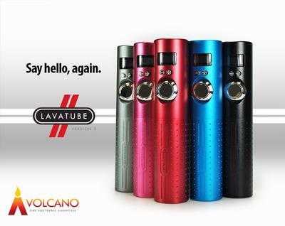 Handcrafted LAVATUBE Version 2 from Volcano Fine Electronic Cigarettes.  (PRNewsFoto/Volcano Fine Electronic Cigarettes)