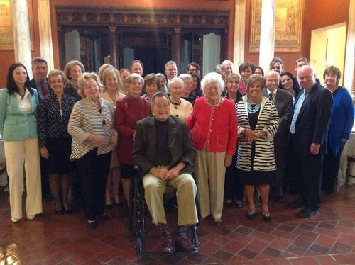 Barbara Bush Foundation for Family Literacy founder Barbara Bush, President George H.W. Bush and literacy ...