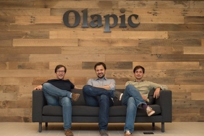 Left to Right: Olapic co-founders Pau Sabria, Luis Sanz and Jose de Cabo