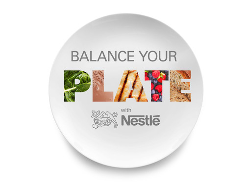 "Nestle USA launches ""Balance Your Plate"" nutrition education campaign to help consumers achieve a healthy, convenient diet.  (PRNewsFoto/Nestle USA)"