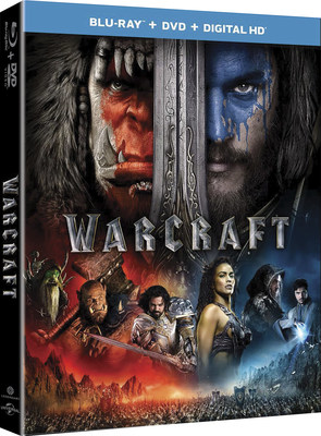 From Universal Pictures Home Entertainment and Legendary Pictures: Warcraft