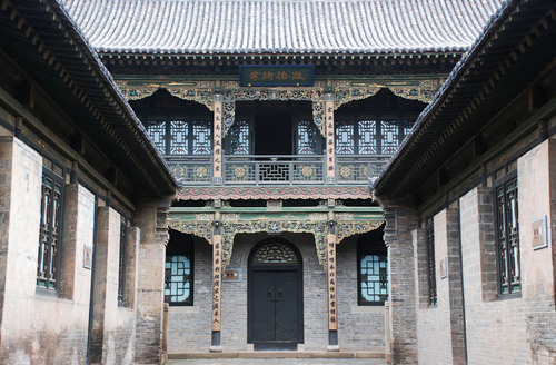 Courtyard of Qiao's Family -- Treasure of Shanxi Businessmen.  (PRNewsFoto/City Channel of CRI Online)