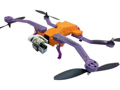 AirDog – the world's first automated drone designed to track and video outdoor sports and activities – has been entirely 3D printed using Stratasys FDM technology