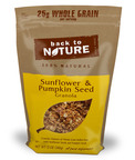 12 oz. Back to Nature(R) Sunflower and Pumpkin Seed Granola.  (PRNewsFoto/Back to Nature Foods Company, LLC)
