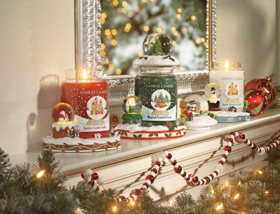 Yankee Candle Adds Magic to the Holiday Season with New Snow Globes Collection