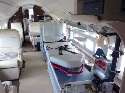 Dassault Delivers State-of-the-Art Medevac Falcon to Beijing Red Cross