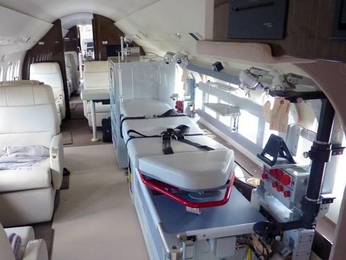 Dassault Delivers State-of-the-Art Medevac Falcon to Beijing Red Cross (PRNewsFoto/Dassault Aviation) (PRNewsFoto/Dassault Aviation)