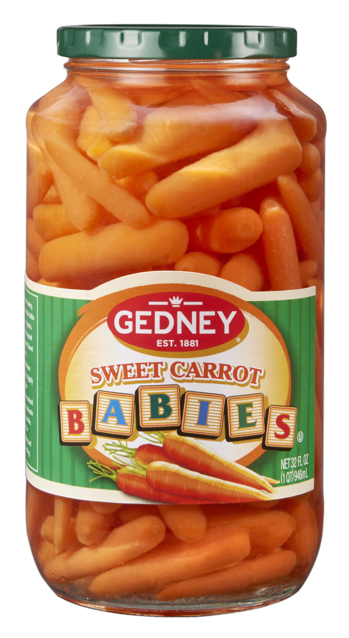 Gedney Sweet Carrot Babies 32 oz