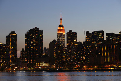 NYC Skyline Turns Orange for National Gun Violence Awareness Day #WearOrange