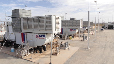 APR Energy's fast-track, mobile turbine power plant in Port Hedland, Pilbara, Western Australia