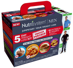 Nutrisystem introduces a new Men's Protein-Powered 5-Day Weight Loss Kit at retail. (PRNewsFoto/Nutrisystem, Inc.)