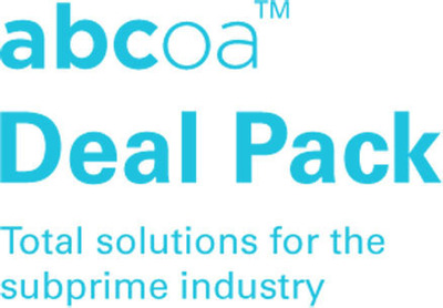 """ABCoA's new logo drives home the company's mission in the tagline, """"Total Solutions for the Subprime Industry."""" (PRNewsFoto/ABCoA)"""