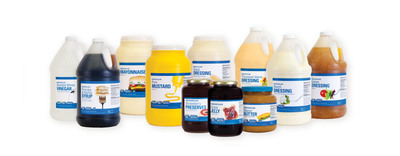 Assortment of NOVAPLUS(R) Private-Label Condiments.  (PRNewsFoto/Novation)