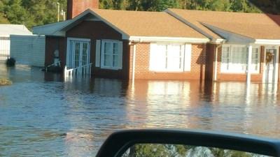Flooded Homes, Sea Pines Resort, Hilton Head, SC