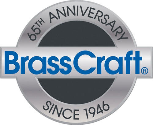 BrassCraft anniversary commemorative logo.  (PRNewsFoto/BrassCraft Manufacturing Company)