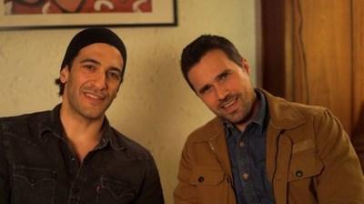 Simon Kassianides and Brett Dalton are raising $65k to shoot their movie 'Trust No One' this summer. (PRNewsFoto/Trust No One)