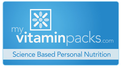 MyVitaminPacks - Science Based Personal Nutrition.  (PRNewsFoto/MyVitaminPacks, LLC)