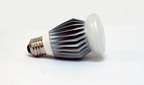 Lighting Science Group's Omnidirectional A19 40 Watt Equivalent LED Bulb.  (PRNewsFoto/Lighting Science Group Corporation)