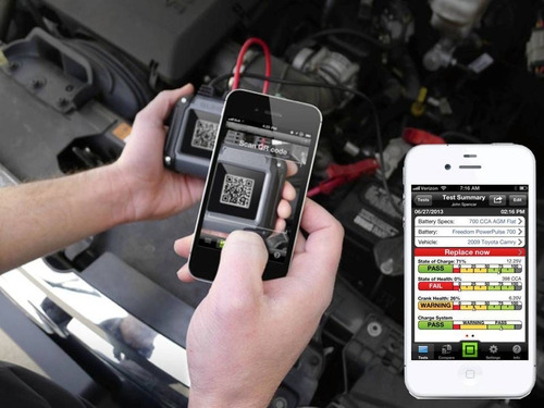 B2Q Revolutionizes Battery Testing.  Now there's an app for that!  See www.b2qtech.com for details.  (PRNewsFoto/B2Q Technologies)