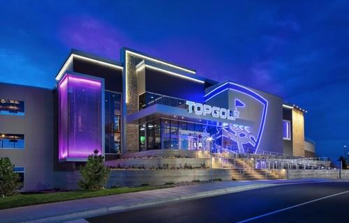 A Topgolf venue in Colorado