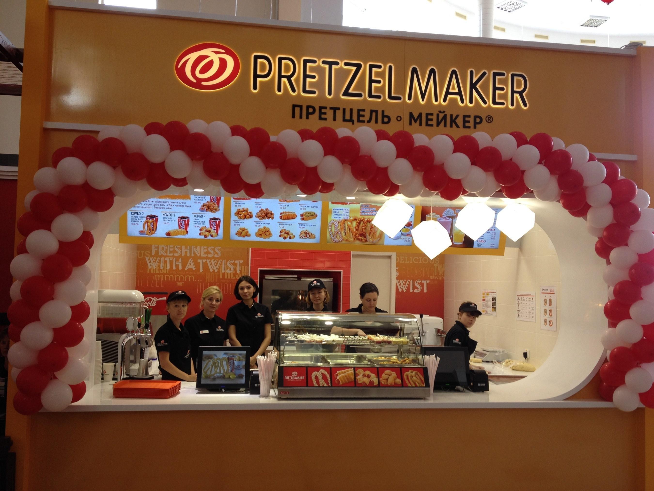 Pretzelmaker® открывает два заведения в России