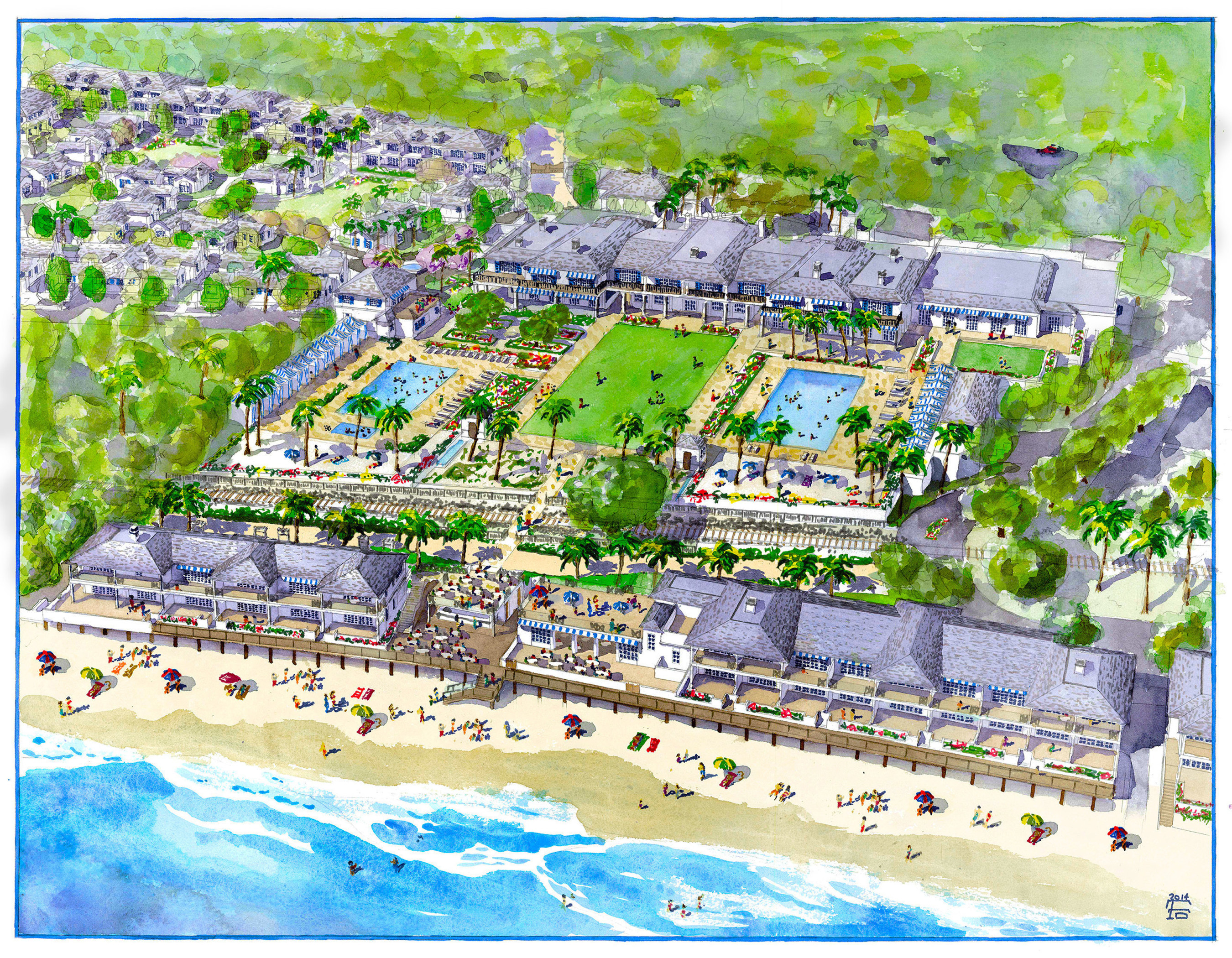 Rosewood Miramar Beach Montecito To Open 2018