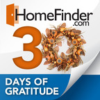 HomeFinder.com Launches 30 Days of Gratitude Contest for Real Estate Agents This Holiday Season