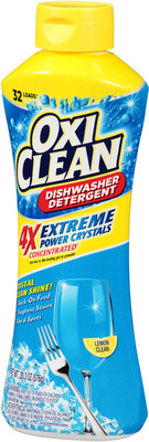 NEW OxiClean Extreme Power Crystals Dishwasher Detergent