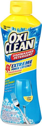 NEW OxiClean Extreme Power Crystals Dishwasher Detergent. (PRNewsFoto/CHURCH _ DWIGHT CO__ INC_)