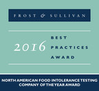 Cell Science Systems, Corp. Recieves 2016 North American Food Intolerance Testing Company of the Year Award