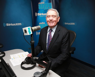 Legendary News Anchor Dan Rather Launches New Show on SiriusXM's Radio Andy Channel