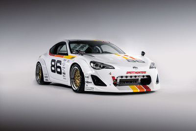 "The ""Maximum Attack"" Scion FR-S will be on display at the 2015 Chicago Auto Show. Designed by Speedhunters, it was the winning vehicle of Scion's 10th annual Tuner Challenge."""