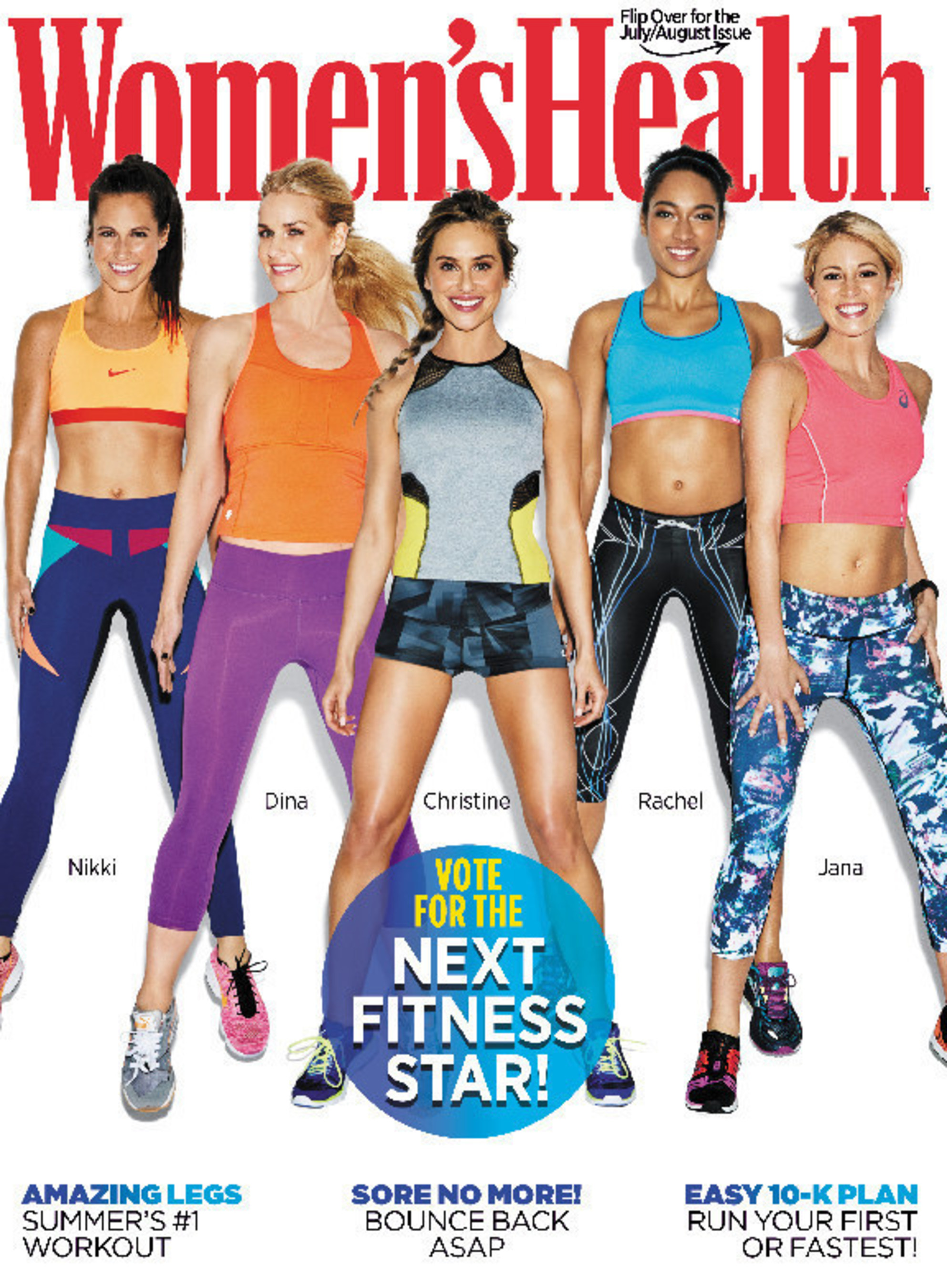 Women's Health Magazine Announces Finalists For 3rd Annual 'Next Fitness Star' Competition
