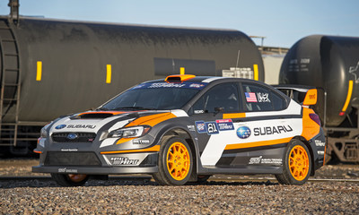 Subaru Driver Bucky Lasek's 2015 WRX STI Rallycross car will debut to the public at the 2015 New York International Auto Show.