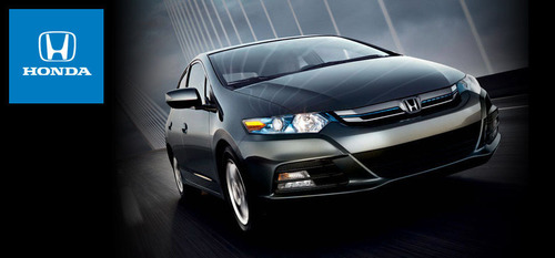 When released, the 2014 Honda Insight will be one of the least expensive hybrids available.  (PRNewsFoto/Benson Honda)