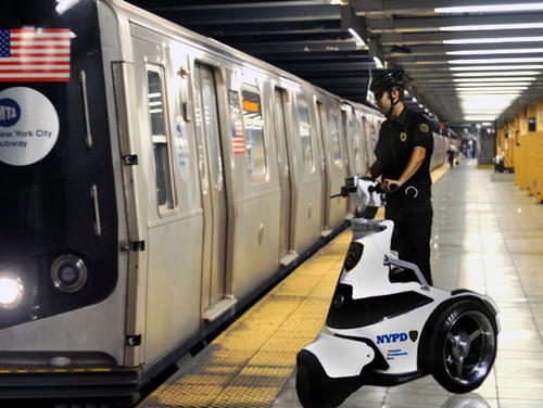 T3 Series Three-wheeled Electric Stand-up Vehicle Featured in the Sunday Edition of The New York