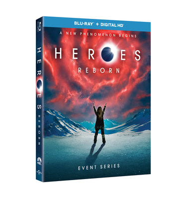 From Universal Pictures Home Entertainment: Heroes Reborn: Event Series