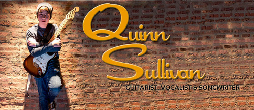 Guitarist, Vocalist and Songwriter Quinn Sullivan. Photo: Chuck Lanza.  (PRNewsFoto/SuperStar Records, Chuck Lanza)