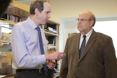 Brian Druker, M.D. and Sadik Esener, Ph.D. discuss the OHSU Knight Cancer Institute's Center for Early Detection.