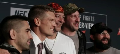 Warriors served by Wounded Warrior Project got a chance to ride with Harley-Davidson and take in a UFC fight during an event in NYC.