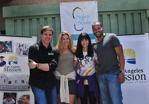 Celebrities Turn Out to Support Soles4Souls®, the Shoe Charity During National Barefoot Week