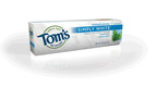 New Natural Simply White Fluoride Toothpaste, clinically proven to whiten teeth naturally. (PRNewsFoto/Tom's of Maine)
