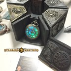 STARLING Collectable Steampunk Vintage Jewelry Pocket Watches Now Available. They are the Perfect Limited Edition Victorian Cosplay Accessory with Chillovean Lights.