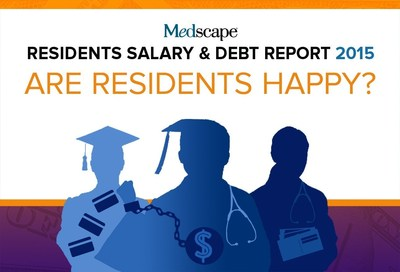 2015 Medscape Resident Salary & Debt Report Shows Medical Residents Optimistic about Jobs, Compensation and Future as Physicians.