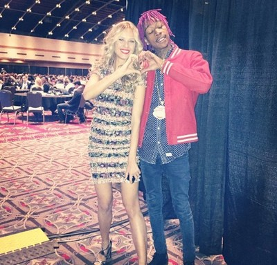 Petra Nemcova and Wiz Khalifa join the #HappyHeartsChallege
