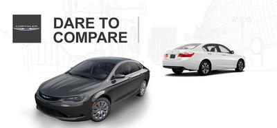 Vehicle Comparisons.  (PRNewsFoto/Mac Haik CDJR)