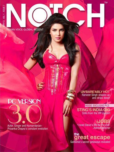 Priyanka Chopra graces the 7th edition of NOTCH (PRNewsFoto/NOTCH Media Pvt Ltd)