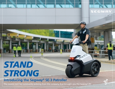 Introducing the Segway SE-3 Patroller. (PRNewsFoto/Segway Inc.)