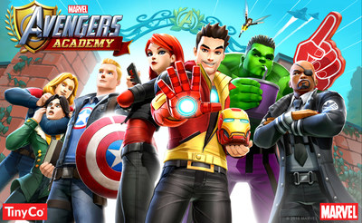 SUPER HERO SCHOOL IS IN SESSION WITH THE RELEASE OF MARVEL AVENGERS ACADEMY ON THE APP STORE AND GOOGLE PLAY